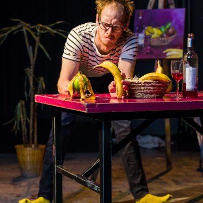 "Thom Monckton: ""The Artist""  (Circo Aereo, Ateneum-hall, Helsinki, Finland)"